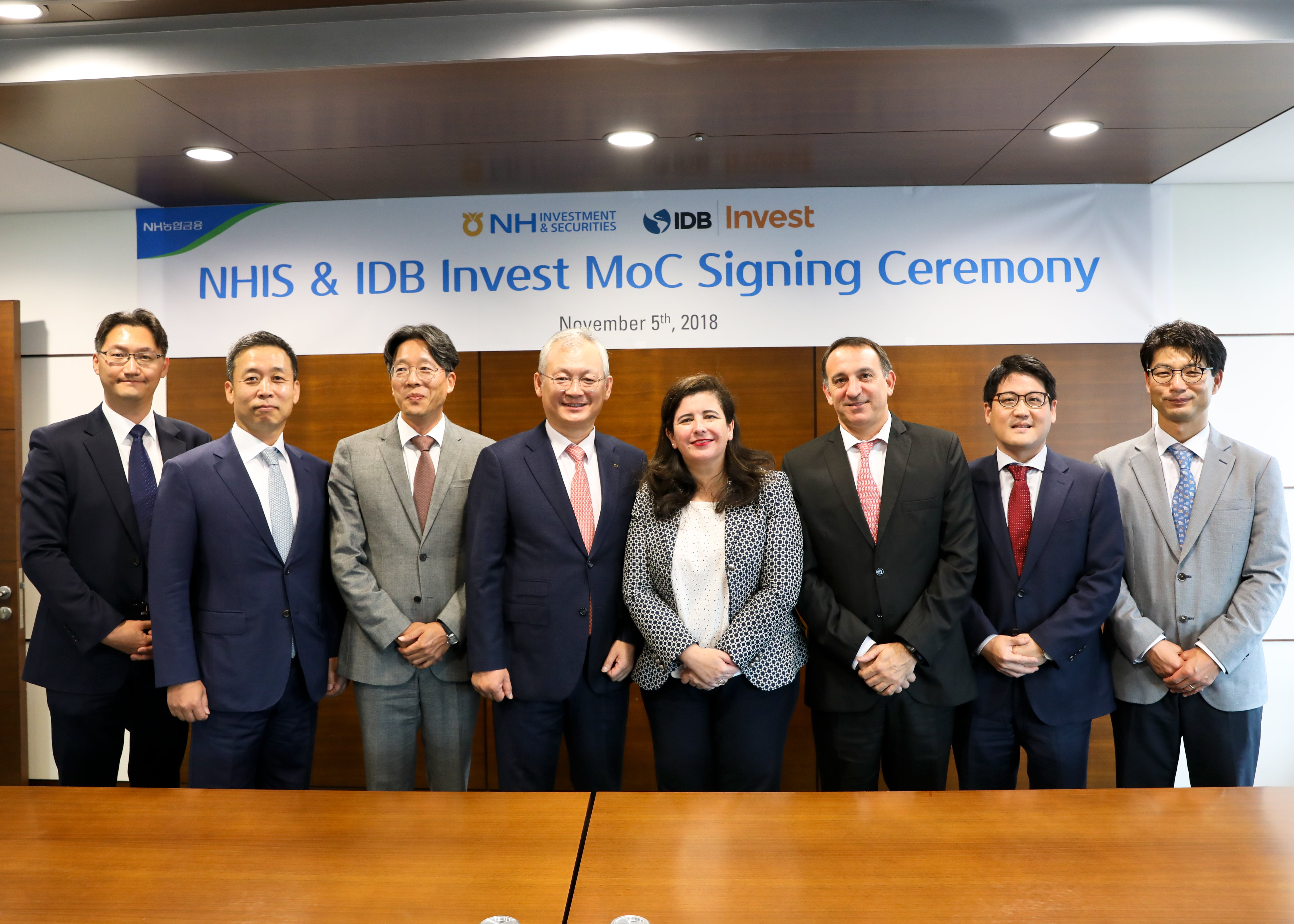IDB Invest and NH Investment Securities