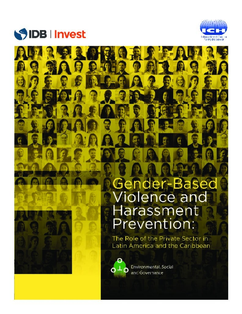 Gender-based Violence and Harassment Prevention: The Role of the Private Sector in Latin America and the Caribbean