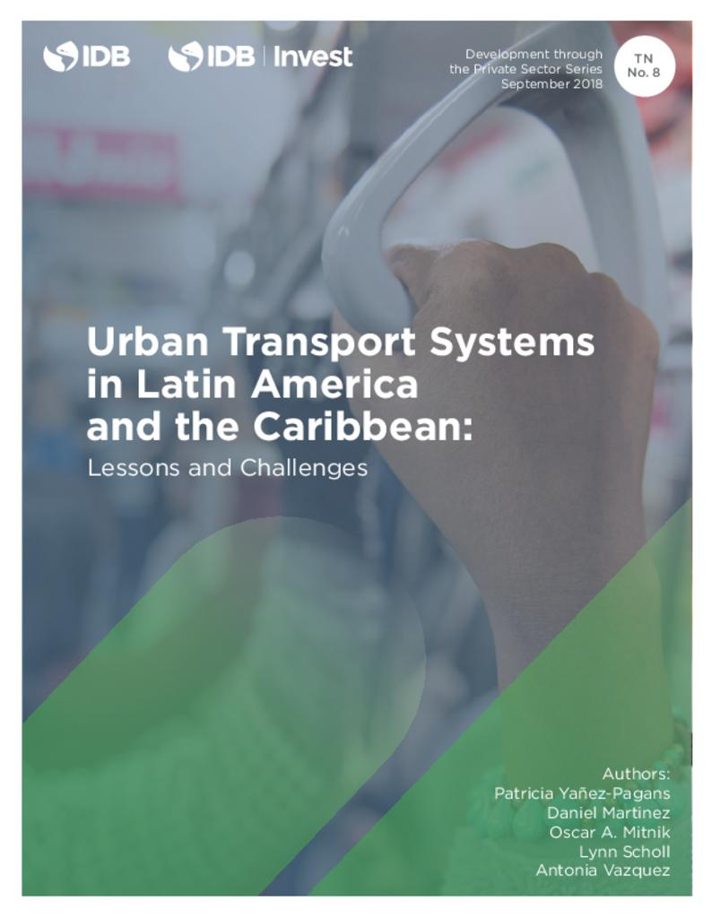 Report: Urban Transport Systems in Latin America and the Caribbean