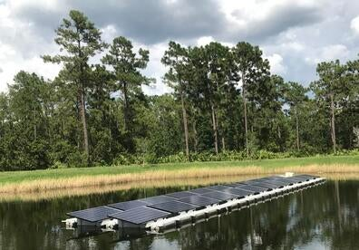 Can 'flotovoltaics' be a future partner for hydropower systems?